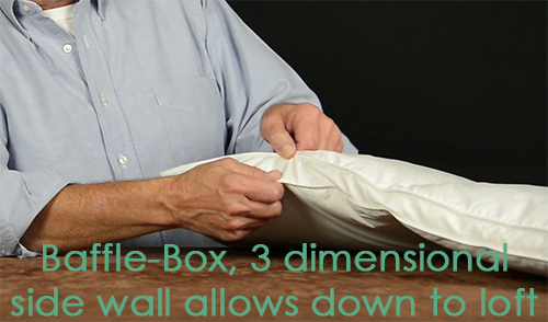 Baffle-Box Goose Down Comforter