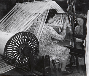 Image of Christy towel loom from the early 1900's