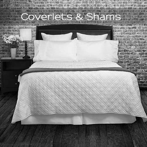 Luxury Cotton Quilted Coverlets & Shams
