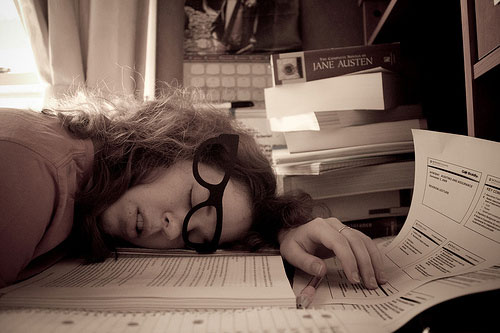 If your not getting proper sleep it may affect your work