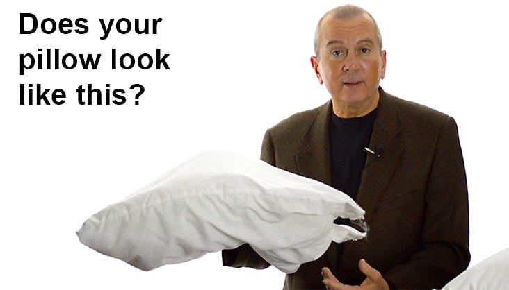 Flat Pillow do not provide good neck & head support