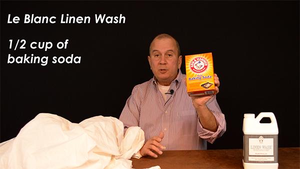 Le Blanc Linen wash is an excellent detergent