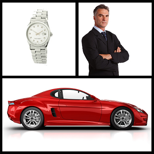 You own the sports car, the Armani suit & the Rolex.