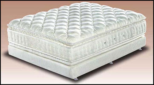 A mattresses fabric can be rough & uneven