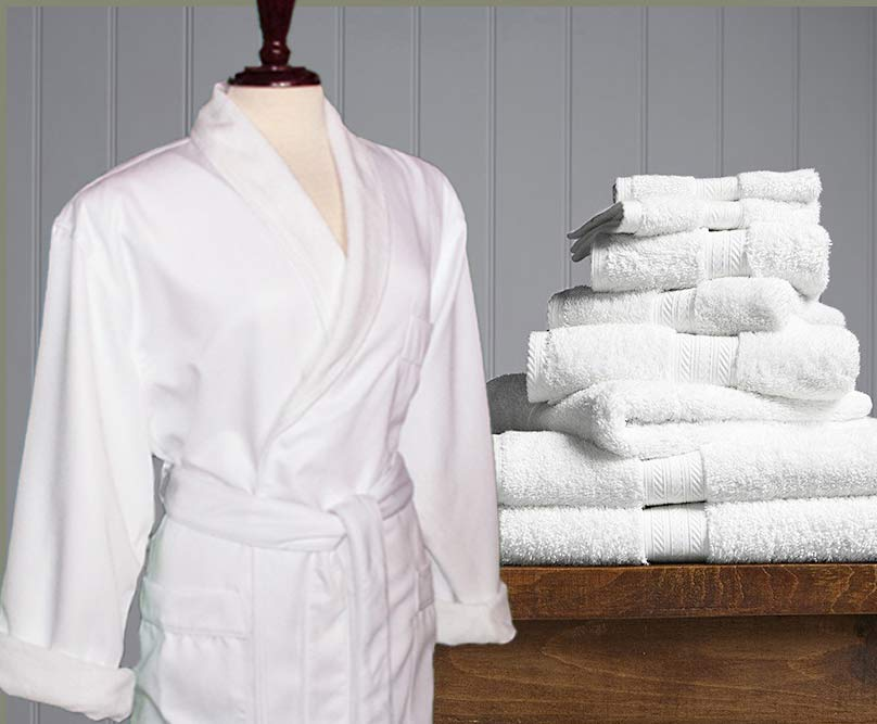 Micro fiber robes are super easy to clean