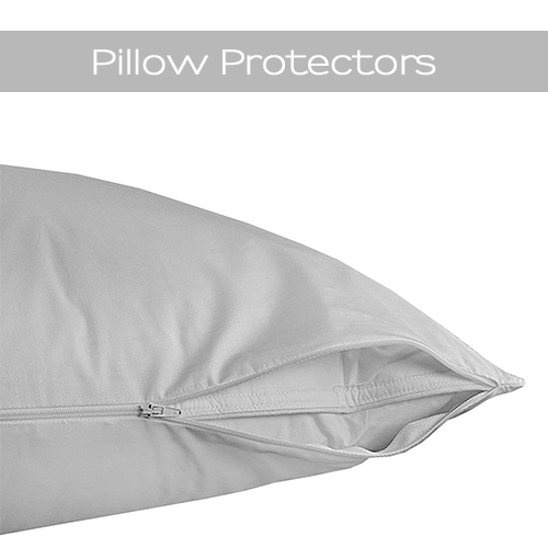 Protect your sleeping pillows with our cotton pillow protectors