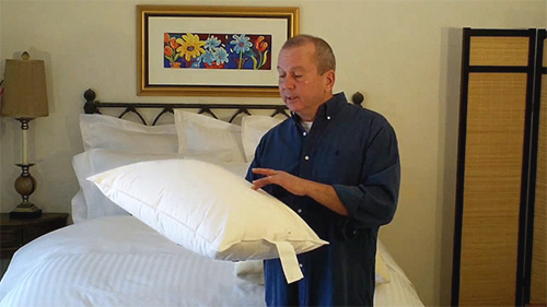 Pillow protectors keep your sleeping pillows cleaner