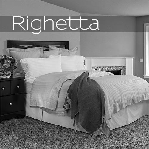 Righetta is a tone on tone 100% cotton fabric