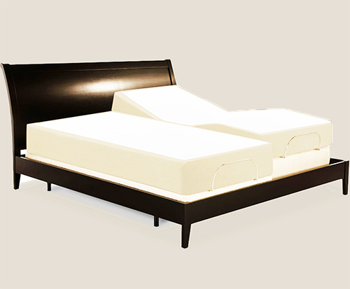 Split mattresses are all the rage