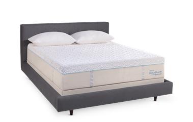 Picture of a memory foam mattress