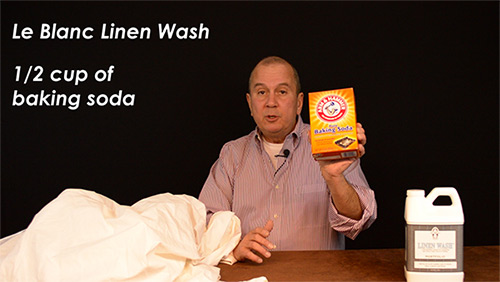 Caustic detergents can ruin your sheets