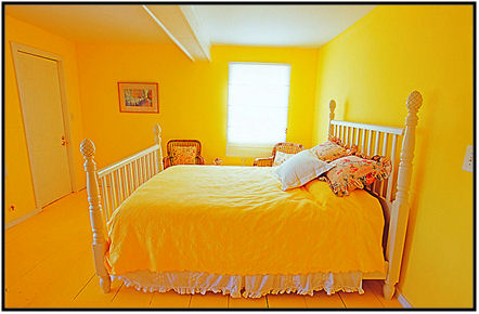 Yellow is the wrong color for your bedroom
