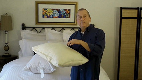 Pillow protectors can prevent your pillows from turning yellow